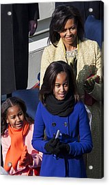 The First Family Acrylic Print by JP Tripp