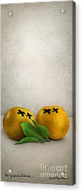 The Grapefruit Dead... Acrylic Print by Will Bullas