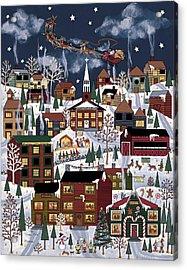 The North Pole Acrylic Print by Medana Gabbard