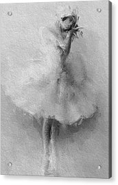 The Swan Acrylic Print by Stefan Kuhn