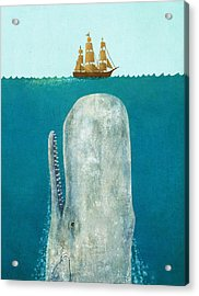 The Whale  Acrylic Print by Terry  Fan