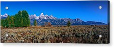 This Is Grand Teton National Park Acrylic Print by Panoramic Images