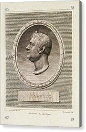 Thomas Clarkson Acrylic Print by British Library