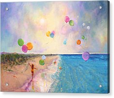 Tide Of Dreams Acrylic Print by Marie Green