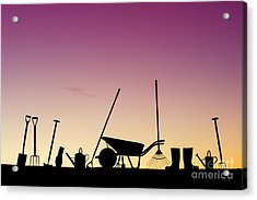Tools Of The Trade Acrylic Print by Tim Gainey