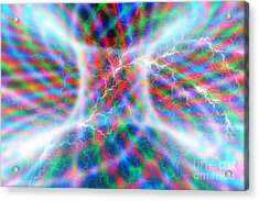 Torus Abstract Acrylic Print by Carol and Mike Werner