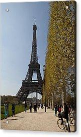 Tour Eiffel 6 Acrylic Print by Art Ferrier
