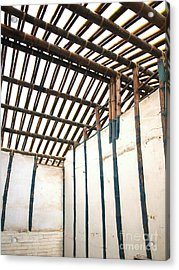 Traditional Chinese Bamboo Structure Acrylic Print by Yali Shi