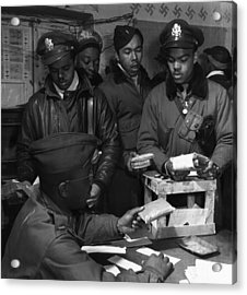Tuskegee Airmen, 1945 Acrylic Print by Granger