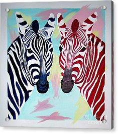 Twin Zs Acrylic Print by Phyllis Kaltenbach