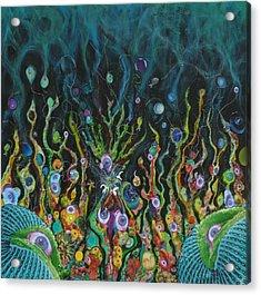 Under The Sea Of Uranus Acrylic Print by Douglas Fromm