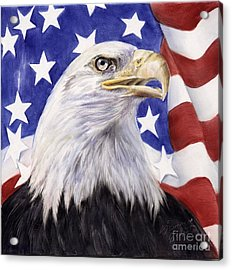 United We Stand? Acrylic Print by Summer Celeste