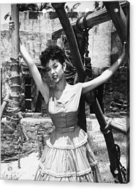 Untamed, Rita Moreno, 1955. Tm & Acrylic Print by Everett