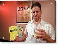 Urine Therapy Clinic Acrylic Print by Thierry Berrod, Mona Lisa Production