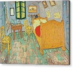 Van Goghs Bedroom At Arles Acrylic Print by Vincent Van Gogh