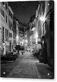 Vernazza Italy Acrylic Print by Carl Amoth
