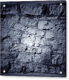 Wall Acrylic Print by Les Cunliffe