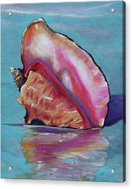 Washed Ashore Acrylic Print by Eve  Wheeler