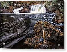 1 Weight On The Isinglass. Acrylic Print by Jeff Sinon