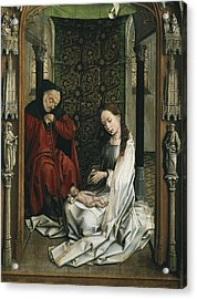 Weyden, Rogier Van Der  1400-1464 Acrylic Print by Everett
