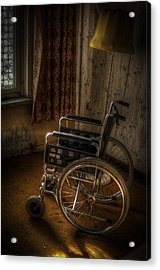 Wheelchair View  Acrylic Print by Nathan Wright