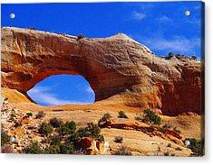 Wilsons Arch Acrylic Print by Jeff Swan
