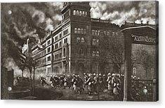 World War I Berlin Acrylic Print by Granger