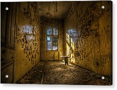 Yellow Room Acrylic Print by Nathan Wright