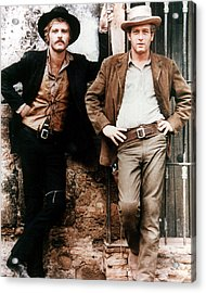 Butch Cassidy And The Sundance Kid  Acrylic Print by Silver Screen