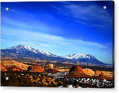 Capitol Reef National Park Burr Trail Acrylic Print by Mark Smith