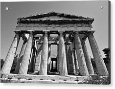 Hephaestus Temple Acrylic Print by George Atsametakis
