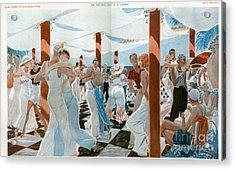 La Vie Parisienne  1931 1930s France Cc Acrylic Print by The Advertising Archives