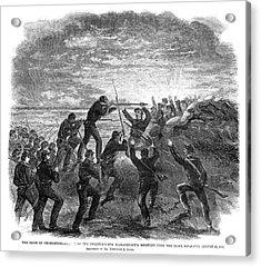 Siege Of Charleston, 1863 Acrylic Print by Granger