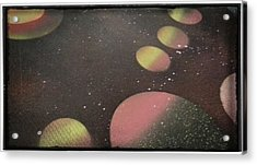 Space Acrylic Print by Nathan Hawes