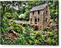 1007-2693 Pugh's Old Mill  Acrylic Print by Randy Forrester