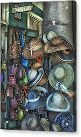 1025 N. Peters Acrylic Print by Brenda Bryant