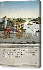 Italy, Tuscany, Florence, Uffizi Acrylic Print by Everett