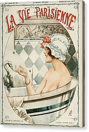 La Vie Parisienne  1919 1910s France Acrylic Print by The Advertising Archives