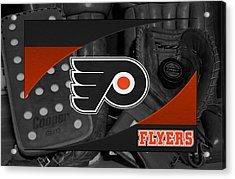 Philadelphia Flyers Acrylic Print by Joe Hamilton
