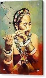 South Asian Art  Acrylic Print by Corporate Art Task Force