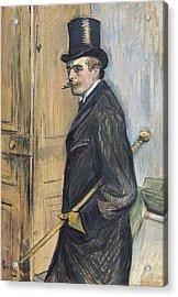 Toulouse-lautrec, Henri De 1864-1901 Acrylic Print by Everett
