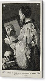 Caravaggio, Michelangelo Merisi Da Acrylic Print by Everett