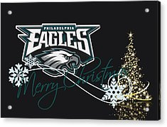 Philadelphia Eagles Acrylic Print by Joe Hamilton