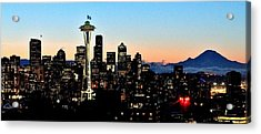 12th Man Sunrise Acrylic Print by Benjamin Yeager