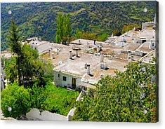 Alpujarras In Granada Acrylic Print by Guido Montanes Castillo