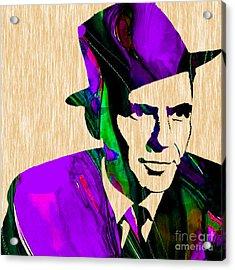 Frank Sinatra Acrylic Print by Marvin Blaine