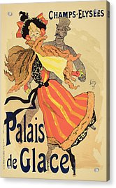 Reproduction Of A Poster Advertising Acrylic Print by Jules Cheret
