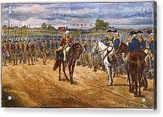 Yorktown: Surrender, 1781 Acrylic Print by Granger