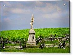 132 Pennsylvania Volunteer Infantry - Antietam Maryland Acrylic Print by Bill Cannon