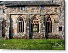 13th Century Abbey Acrylic Print by Adrian Evans